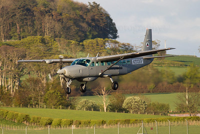 N2006V. Cessna 208B Caravan. Afghan Air Force. Prestwick. 150512.  On delivery to the Afghan Air Force.
