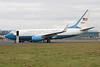 09-0540. Boeing C-40C BBJ. USAF. Prestwick. 211113.