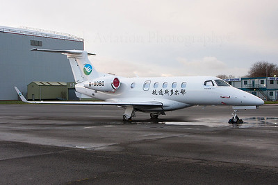 B-9060. Embraer EMB-505 Phenom 300. Private. Prestwick. 191213.