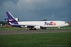 N605FE. McDonnell Douglas MD-11F FedEx Prestwick October 1997.