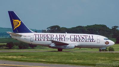 EI-CNX. Boeing 737-234/Adv. Ryanair. Prestwick. June. 1998.