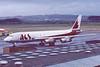 C-FDWW. Douglas DC-8-55F. ACS Cargo. Prestwick. February. 1988.
