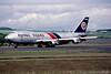 N806FT. Boeing 747-249F. Flying Tigers. Prestwick. July. 1987.