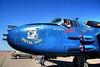 Beth and 'Devil Dog' - a Marine style B-52 PBJ - just landed.