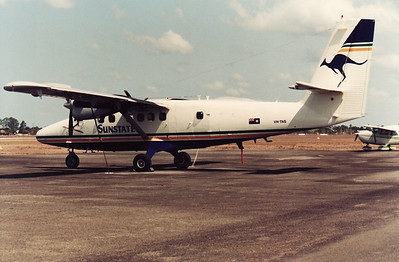 VH-TNS SUNSTATE TWIN OTTER