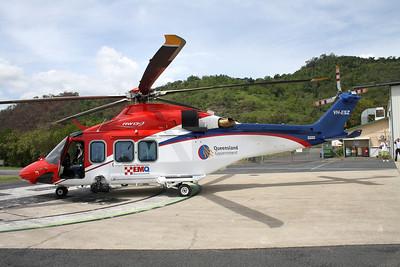 VH-ESZ EMQ (Emergency Management Queensland ) AGUSTA AW-139
