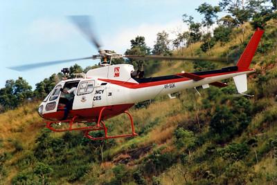 VH-SGK QUEENSLAND EMERGENCY SERVICES AS-350B