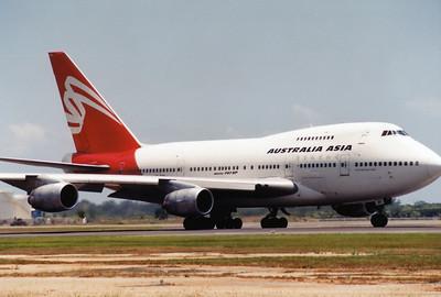 VH-EAA AUSTRALIA ASIA B747SP