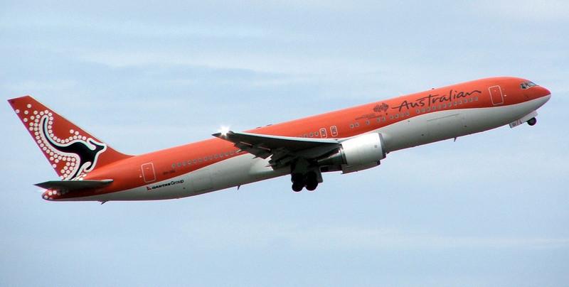Qantas / Australian Boeing 767-300 VH-OGI Australian Airlines Colour Scheme