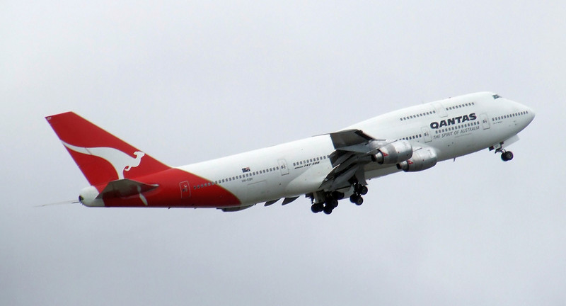 Qantas Boeing 747-300 VH-EBY