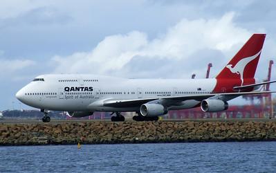 Qantas Boeing 747-400 VH-OJI