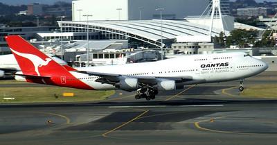 Qantas Boeing 747-400 VH-OJD