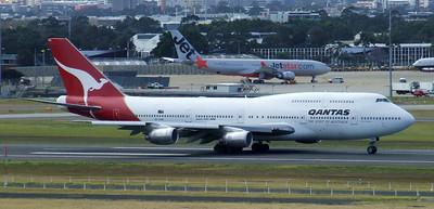 Qantas Boeing 747-300 VH-EBW