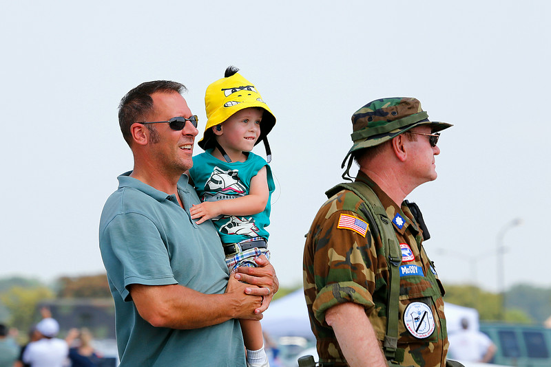 at the 2014 Quad City Air Show