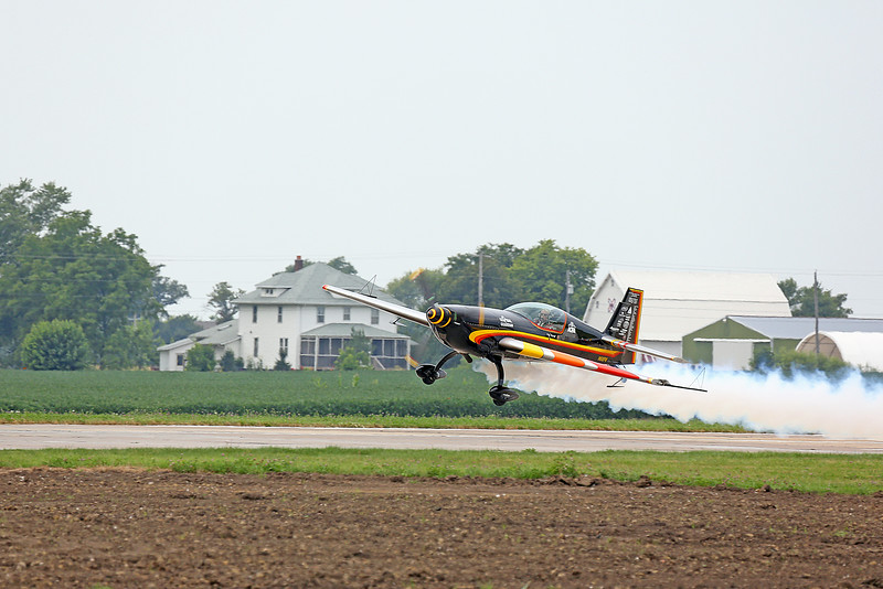 Patty Wagstaff in the Extra 300S at the 2014 Quad City Air Show