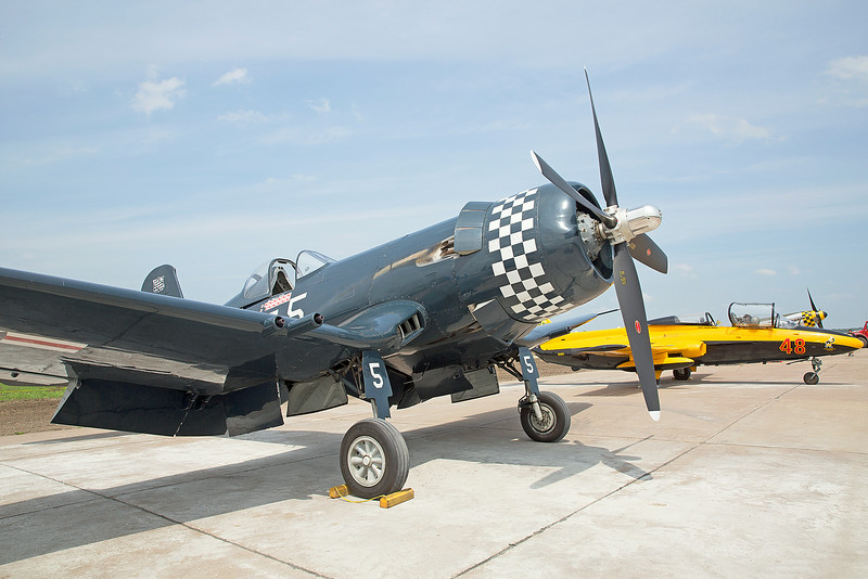 North American P-51 Mustang Demo at the 2014 Quad City Air Show