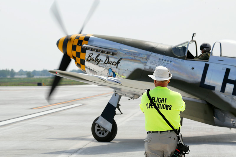 at the 2014 Quad City Air Show