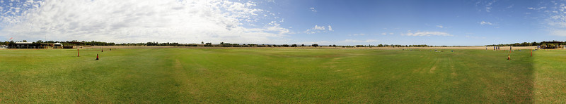 Panorama of the field
