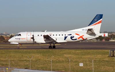 VH-ZLC REX SAAB-340B