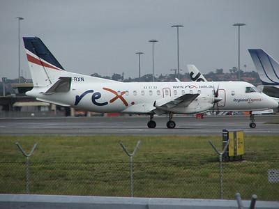 VH-RXN REX SAAB-340