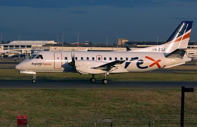 VH-ZRJ REX SAAB-340B