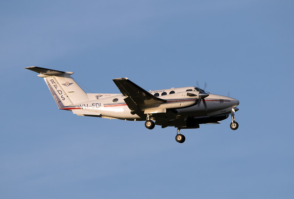 VH-FDL RFDS KING AIR-200