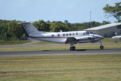 VH-FDF RFDS (Royal Flying Doctor Service) Beech-200 KING AIR