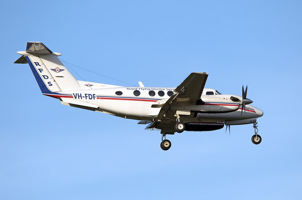 VH-FDF  RFDS KING AIR-200