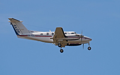 VH-FDO RFDS (Royal Flying Doctor Service) Beech-200 KING AIR