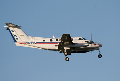VH-FDS RFDS (Royal Flying Doctor Service) Beech-200 KING AIR