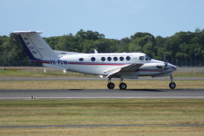 VH-FDW RFDS (Royal Flying Doctor Service) Beech-200 KING AIR