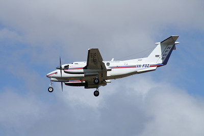 VH-FDZ RFDS KING AIR