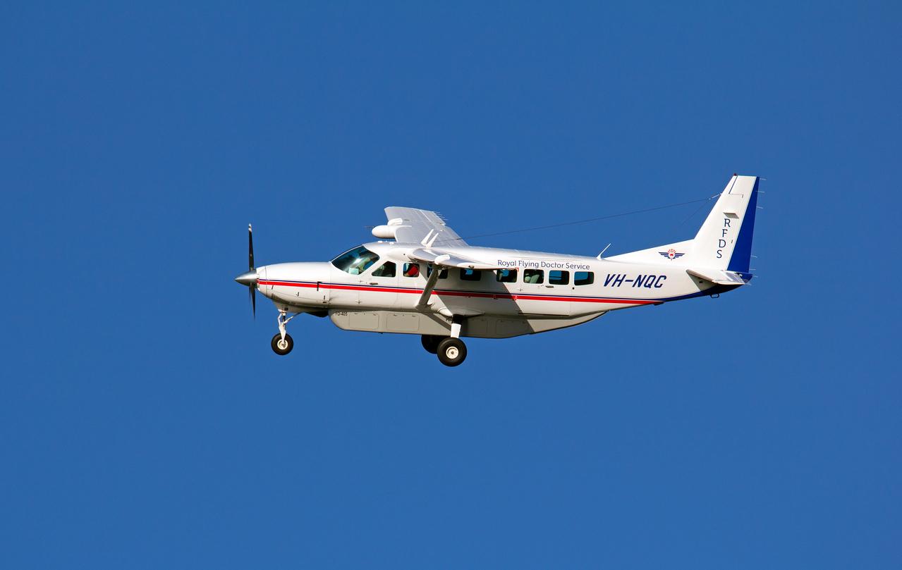 VH-NQC RFDS CESSNA-208 CARAVAN