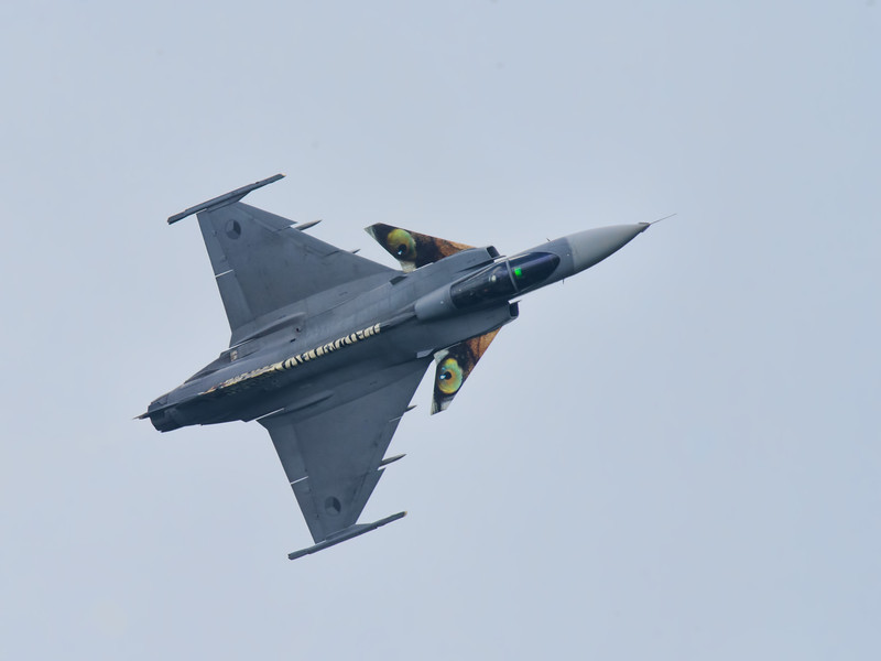 Saab Gripen of Czech Air Force