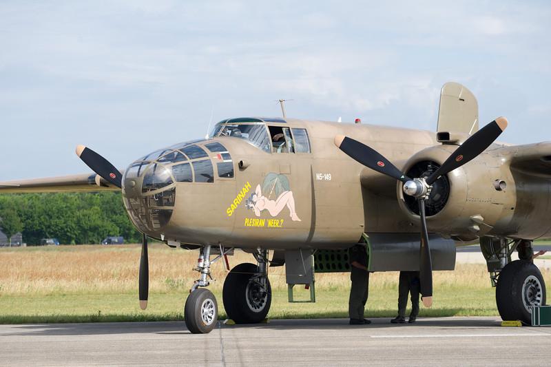 "North American B-25 Mitchell 232511 ""Sarinah"""