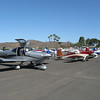 There was a very nice RV-10, lots of -7's, -8's and -9's.