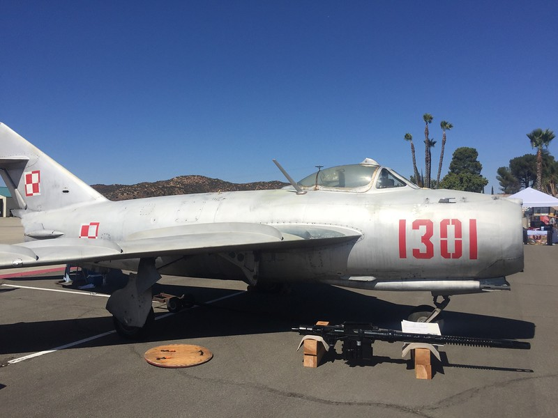 This MIG has been on the field for quite a while. Never seen it fly.