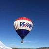 I got my airplane out of the hangar and taxied over to the tower ramp. The RE/MAX balloon was there giving tethered rides. Only a couple of people in line, so I waited around and got on in no time.