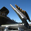 Munitions on the Skyraider.
