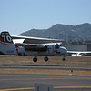 The Cal Fire fire bombers were making lots of runs in and out all day long.