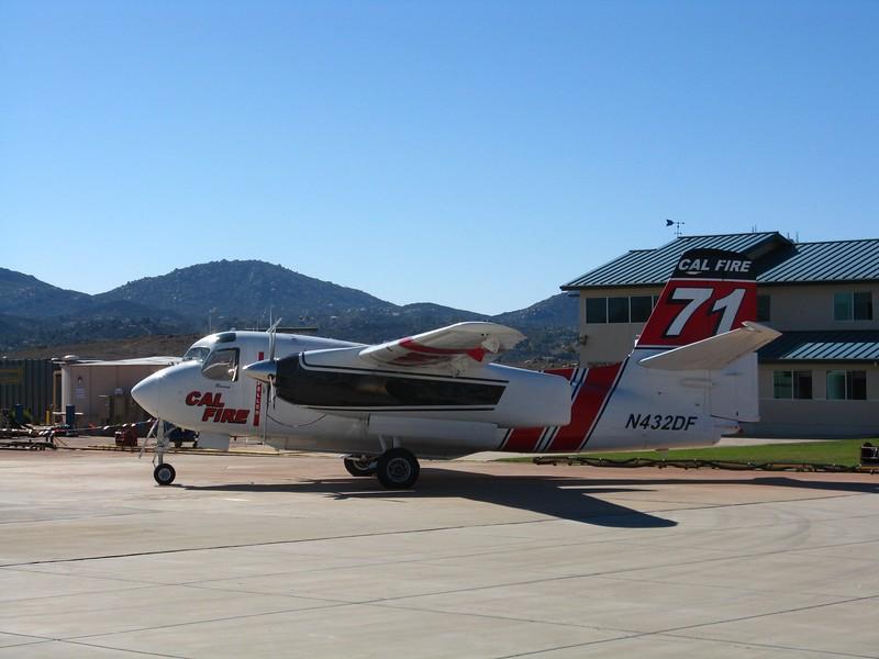 Grumman S-2T airtanker #71.