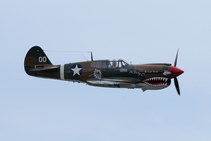 "CURTISS-WRIGHT P-40 ""WARHAWK"""