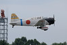 "Aichi D3 ""Val"" just after takeoff"