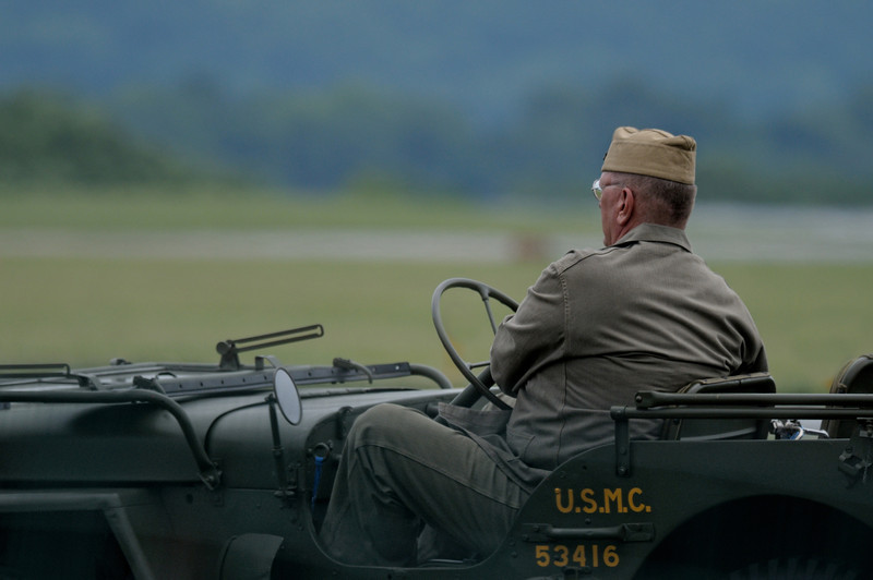 Re-enactor drive by