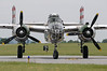 "North American B-25J ""Mitchell"" returning"