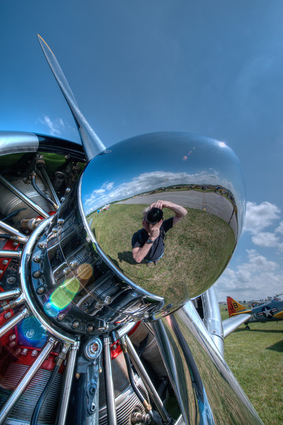 YOURS TRULY IN THE SPINNER