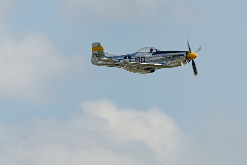 "NORTH AMERICAN P-51D ""MUSTANG"" 'THE BRAT III'"