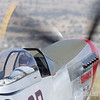 Race #44, Sparky piloted by Brant Seghetti, a P-51 Mustang based out of Vacaville idles on the ramp in preparation to taxi out to the runway to race in the Unlimited Class, At the Reno National Championship Air Races. Saturday. (Josh Redsun/ Courtesey Photo)
