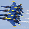 The Blue Angels Airshow demonstration at The Reno National Championship Air Races Saturday. (Josh Redsun/ Courtesy Photo)