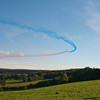 The Red Arrows, RAF Aerobatic Display Team at Chatsworth House Country Fair